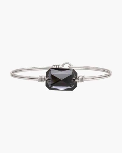 Dylan Regular Bangle Bracelet in Gray