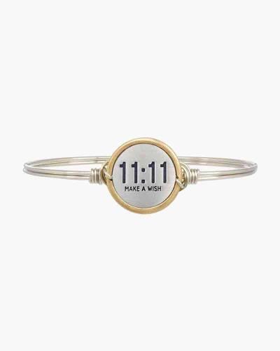 11:11 Make A Wish Bangle Bracelet