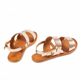 Mia Rose Gold Sandals