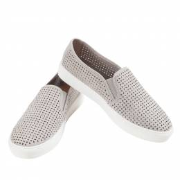 Mia Perforated Slip-On Sneakers