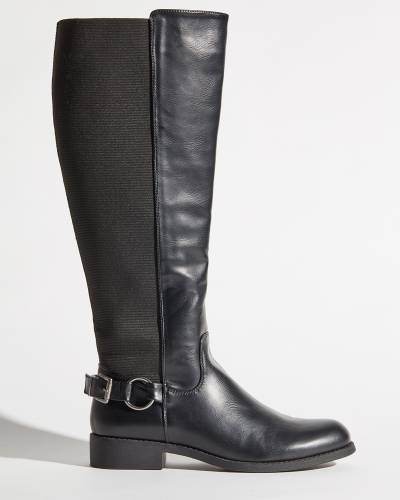 Anderson Comfort Stretch Tall Boots in Black