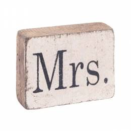 Rustic Marlin Antique White Mrs. Block