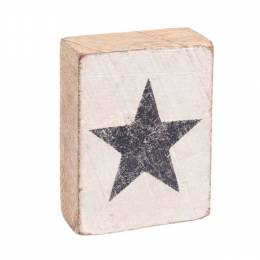 Rustic Marlin Star Block