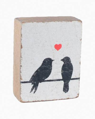 Lovebirds Block