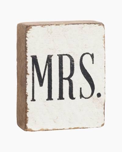 Mrs. Cursive Block
