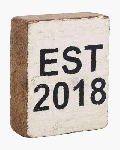 Year 2018 Block