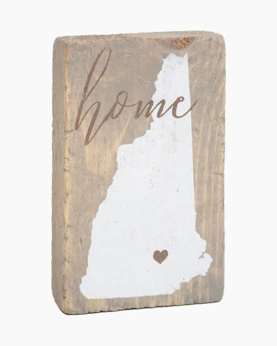 New Hampshire Wooden Block