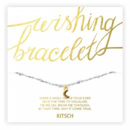 Kitsch You Are Amazing Moon Wishing Bracelet in Pastel Purple