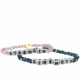 Little Words Project Strength Preciosa Crystal Bracelet