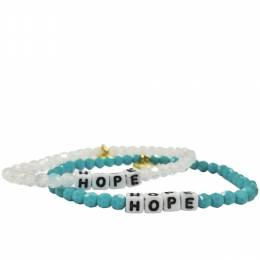 Little Words Project Hope Preciosa Crystal Bracelet