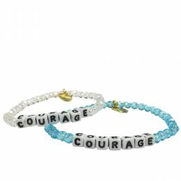 Little Words Project Courage Preciosa Crystal Bracelet
