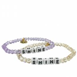 Little Words Project Shine Preciosa Crystal Bracelet
