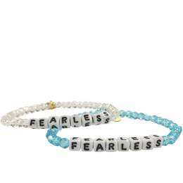 Little Words Project Fearless Preciosa Crystal Bracelet