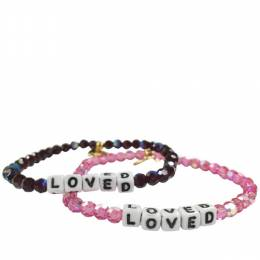 Little Words Project Loved Preciosa Crystal Bracelet