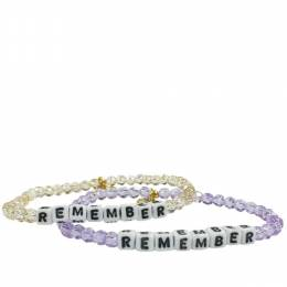 Little Words Project Remember Preciosa Crystal Bracelet