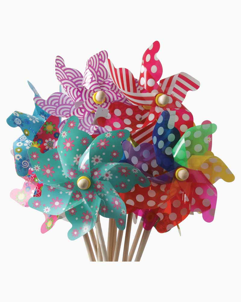House of Marbles Windmill Pinwheel (Assorted Colors)