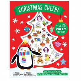 House of Marbles Christmas Cheer! Puffy Stickers Book