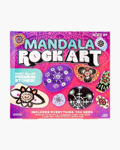 Mandala Rock Art Craft Kit