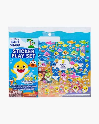 Baby Shark Sticker Play Set