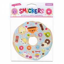 Scentco, Inc. Jelly Donut Smickers Scented Stickers