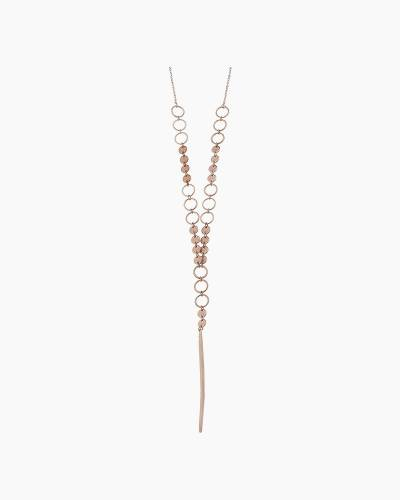 Spear Pendant Necklace in Rose Gold