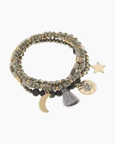 Gigi Layered Stretch Bracelets