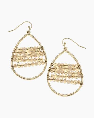 Gold Florence Teardrop Earrings