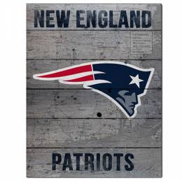 Kindred Hearts New England Patriots Road to Victory Pallet Pride Wooden Sign