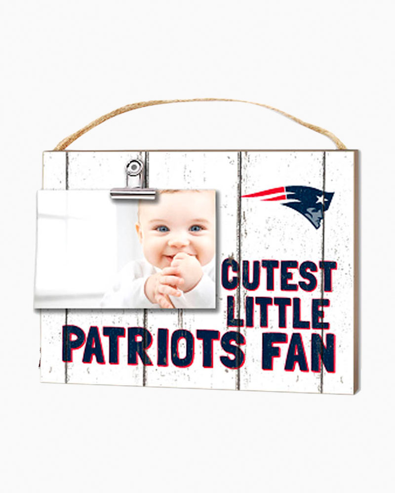 Kindred Hearts New England Patriots Cutest Little Fan Clip It Picture Frame