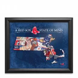 That's My Ticket Boston Red Sox State of Mind Massachusetts Framed Print