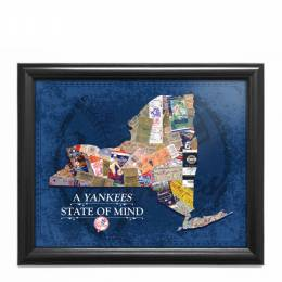 That's My Ticket New York Yankees State of Mind New York Framed Print