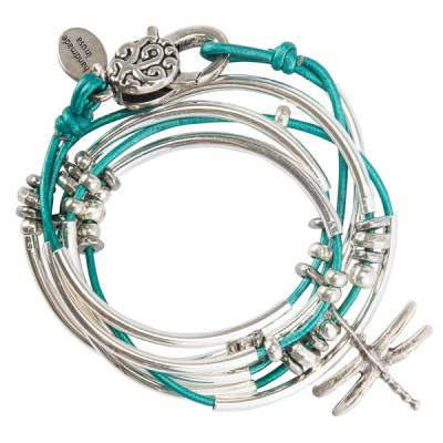 Truly Teal Dragonfly Convertible Bracelet