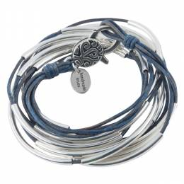 Lizzy James True Blue Classic 4-Strand Convertible Bracelet
