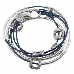 Lizzy James Gloss Navy Aura Convertible Bracelet