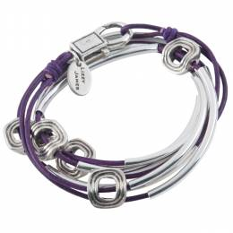 Lizzy James Purple Aura Convertible Bracelet