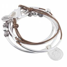 Lizzy James Bronze Summer Convertible Bracelet