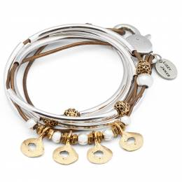 Lizzy James Bronze Margo Convertible Bracelet