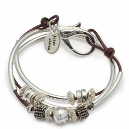 Lizzy James Maroon Ginger Convertible Bracelet