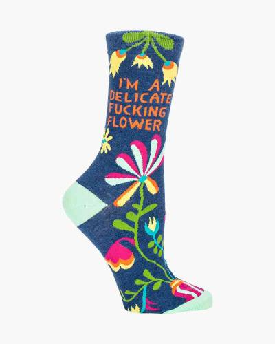 Delicate Flower Women's Socks