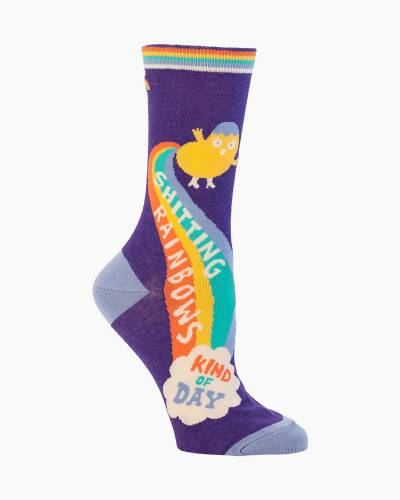 Sh-tting Rainbows Women's Socks