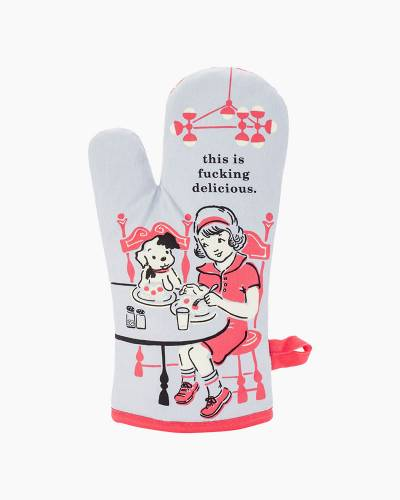 This is F***ing Delicious Oven Mitt