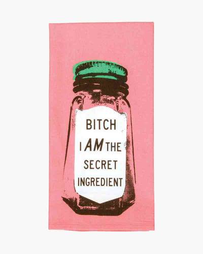 I Am the Secret Ingredient Dish Towel