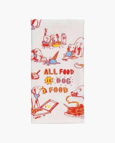 All Food is Dog Food Dish Towel