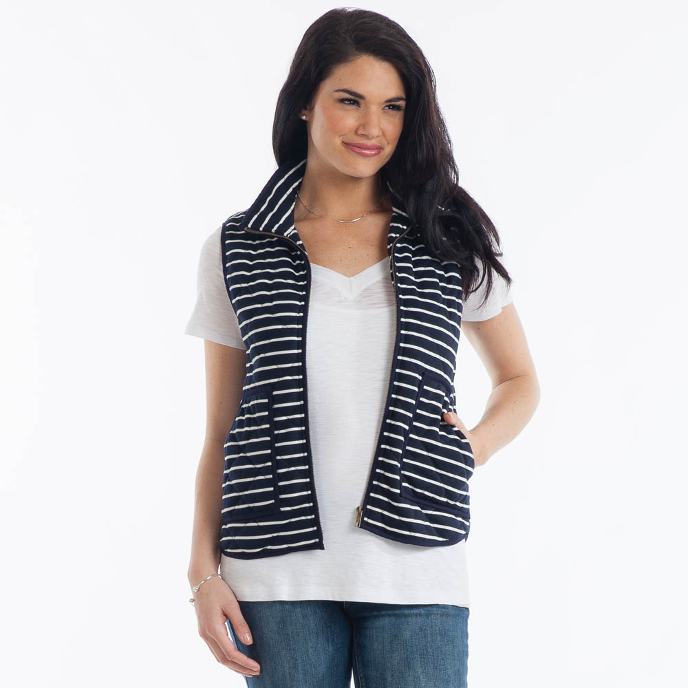 Honey Belle Stripe Vest