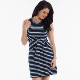 Honey Punch Sleeveless Stripe Dress