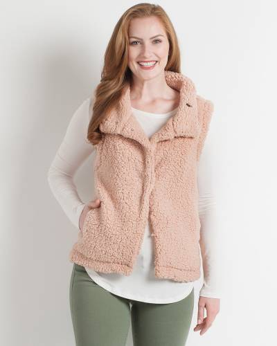 Exclusive Fuzzy Fleece Vest