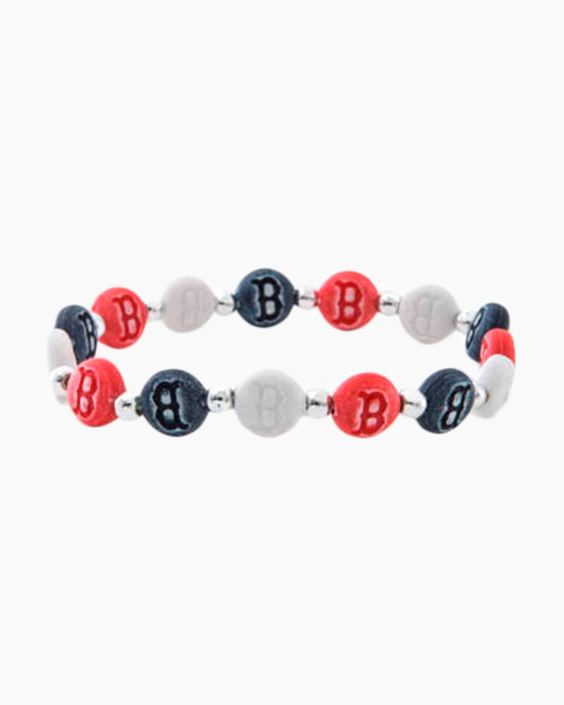 Jacmel Jewelry Boston Red Sox Beaded Bracelet