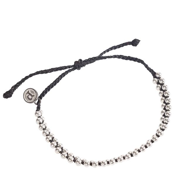 Pura Vida Jewelry Black Track Bead