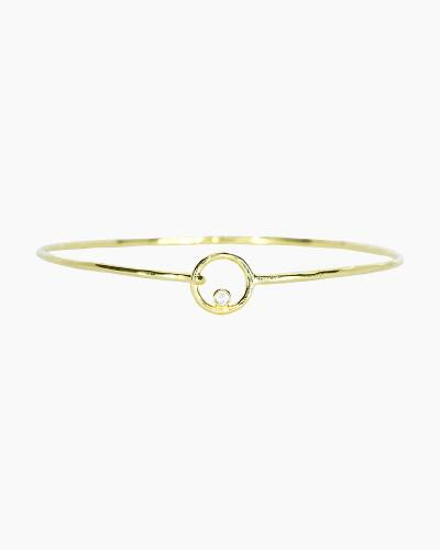 Circle Cuff in Gold