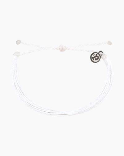 Classic Cord Bracelet in White